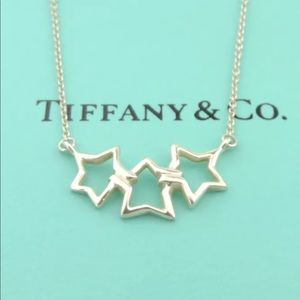 Triple Star T&Co Necklace